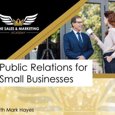 Public Relations for Small Business