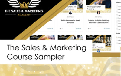 The Sales & Marketing Course Sampler